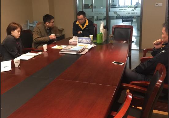 宁波塑机协会春节后走访企业