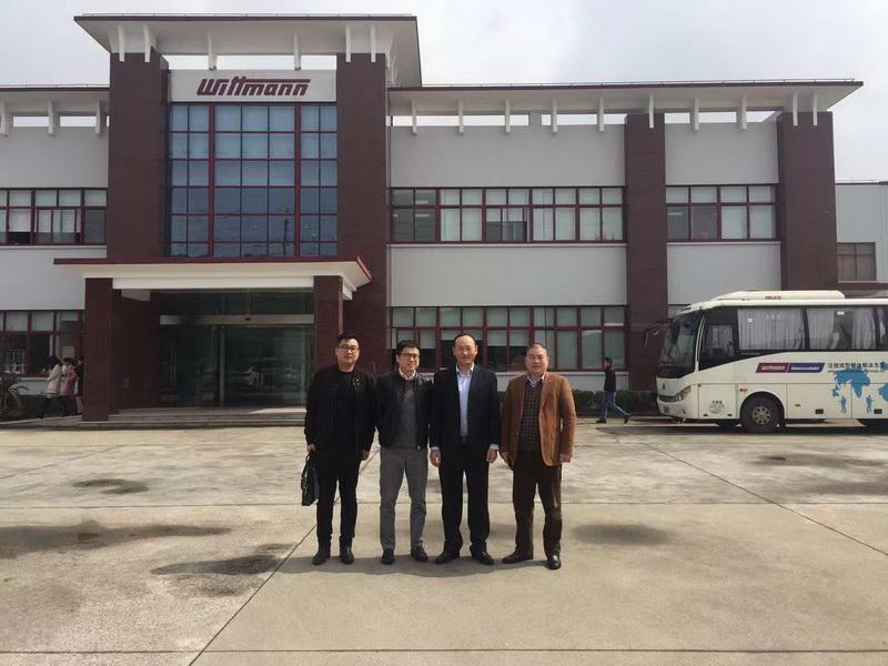 协会秘书长拜访昆山塑料协会及威猛巴顿菲尔(昆山)公司领导