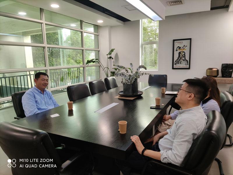 协会秘书处走访企业——信易电热机械有限公司