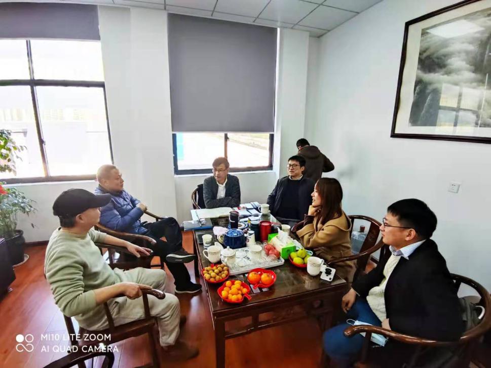 协会秘书处走访企业——宁波海太工贸有限公司